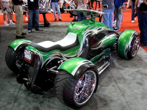 SEMA 2007: Quadracycle!