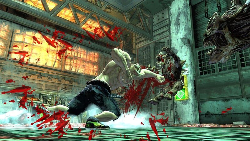 One Of These Splatterhouse Screens Is Actually Quite Pleasant