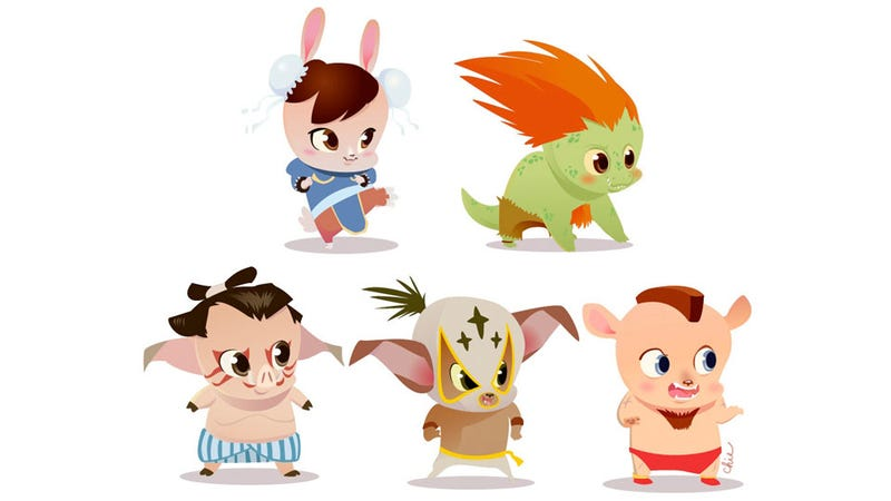 Super Street Fighter IV: Hyper Cute Anthropomorphic Edition