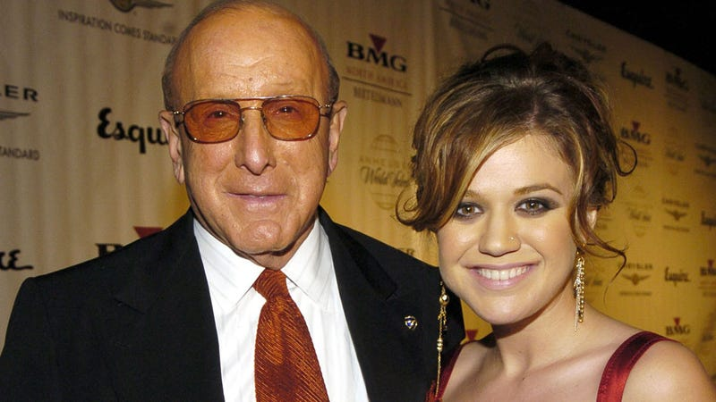 Kelly Clarkson Rips Into Clive Davis Over Portrayal of Her in His Memoir