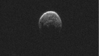Tiny Moon Dive-Bombs Asteroid During Near-Earth Flyby