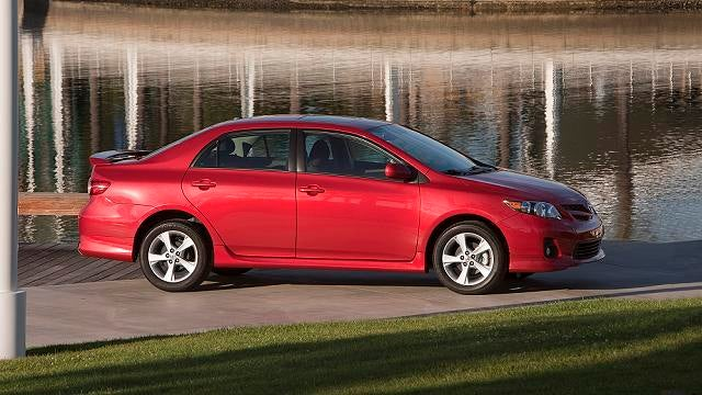 The 2012 Toyota Corolla is as Italian as an Olive Garden