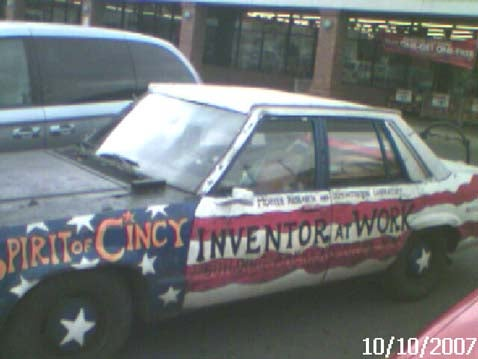 Hood Ornament of the Day: Spirit of Cincy!