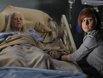 When someone dies of old age on scifi TV, it's never natural causes