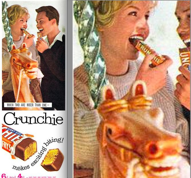 The Ridiculously Phallic Crunchie Ads of the 1950s