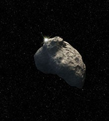 Super-Clean Space Rock Puzzles Astronomers