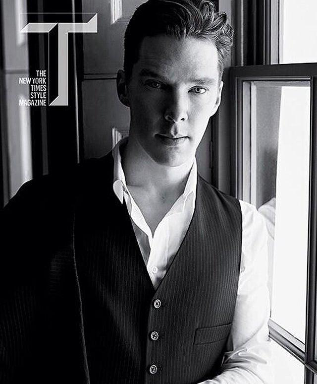 Here's Your Boyfriend Benedict Cumberbatch Looking Splendid