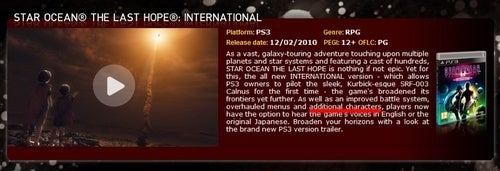 "Star Ocean The Last Hope PS3 Has ""Additional Characters"""