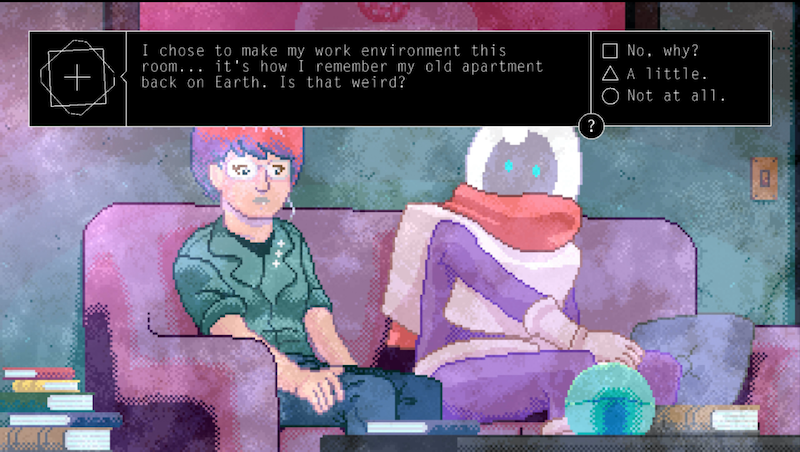 Sci-Fi Romance Adventure Alone With You Just Feels Lonely