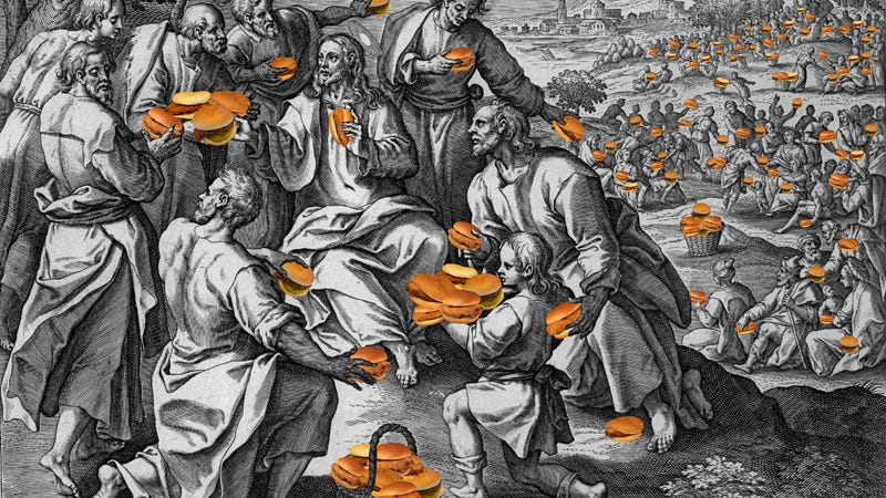 All Meals Are Possible Through Christ: Hate-Bingeing on the Loaves and the Chicken