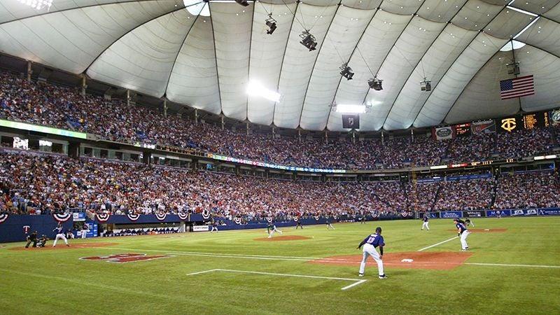 Why Your Stadium Sucks: Hubert H. Humphrey Metrodome