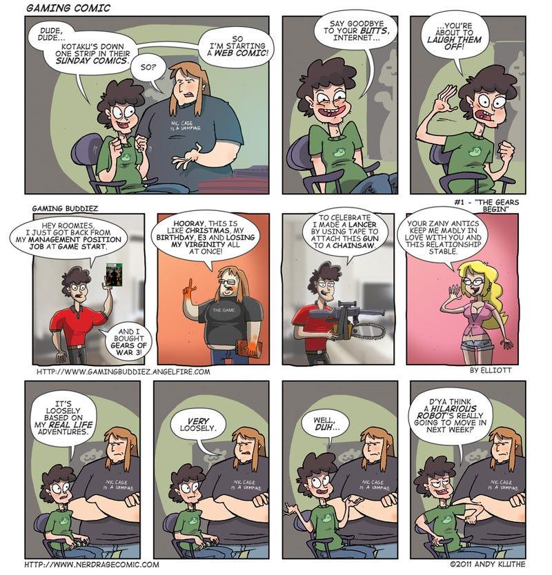 Vote on Sunday Comics' Newest Strip