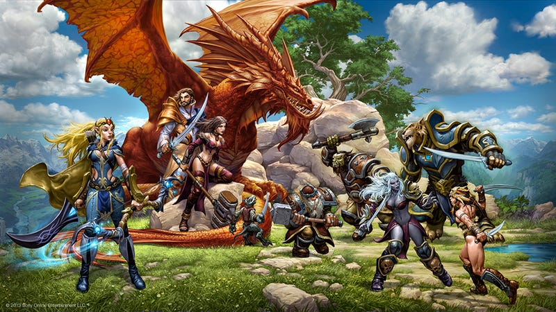 SOE Debuts EverQuest Next Today. Watch The Reveal Live Here.