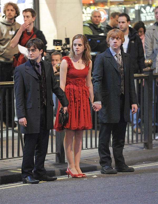 Harry, Hermione & Ron: All Hands On ________