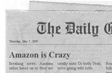 Amazon Wants 70% of Newspaper Revenue for Kindle Distribution?