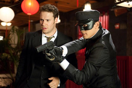 Green Hornet brings on the scrotum jokes and eye-popping 3D visuals