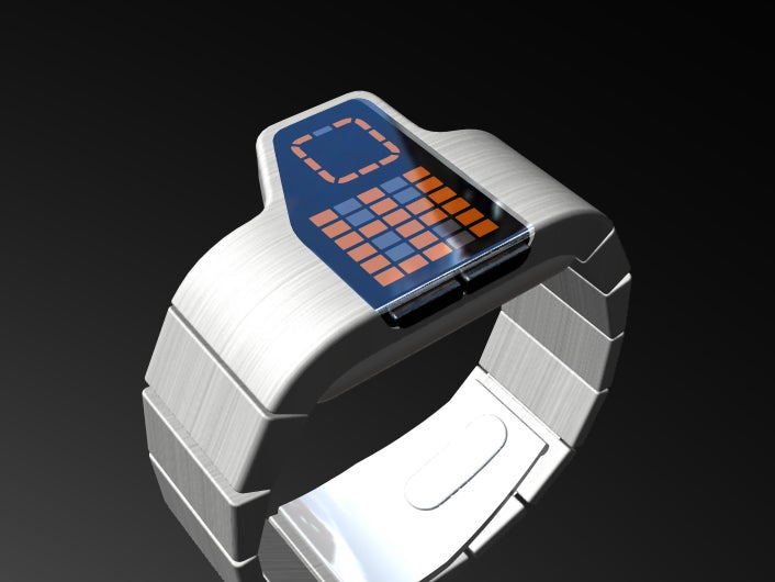 Gridlock Concept Watch Not as Complicated as It Looks