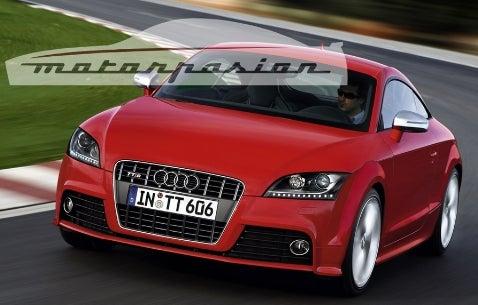 Detroit Auto Show Buggery: Audi TTS Pics, Info Leak