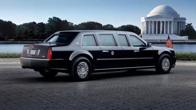 Why America's Current Fleet Of Presidential Limos Suck
