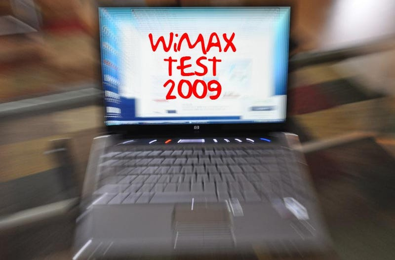 Exclusive: WiMax Uncapped Speed Tests