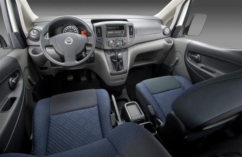 Nissan NV200: New Small Van Carries Cargo, People To Geneva