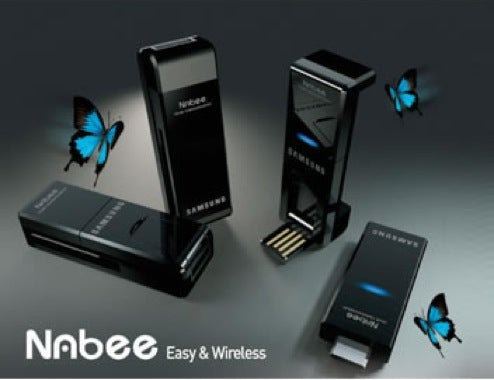 Samsung's Nabee Connects Cameras to PCs, Cables Not Required
