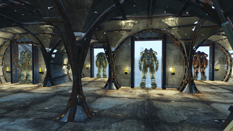 Fallout 4 House Is More Like A Giant Citadel