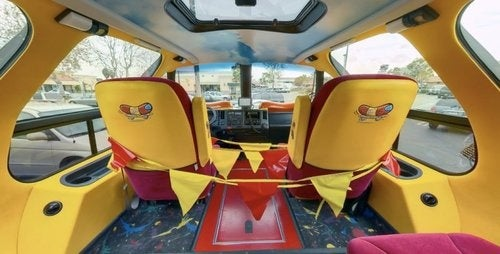 i wish i were inside the oscar mayer wienermobile. Black Bedroom Furniture Sets. Home Design Ideas