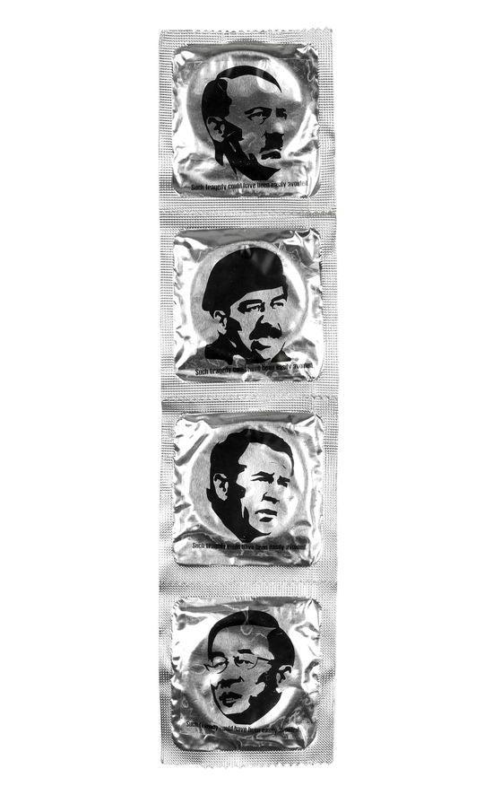 Condoms: The Prophylactic Against War Criminals!