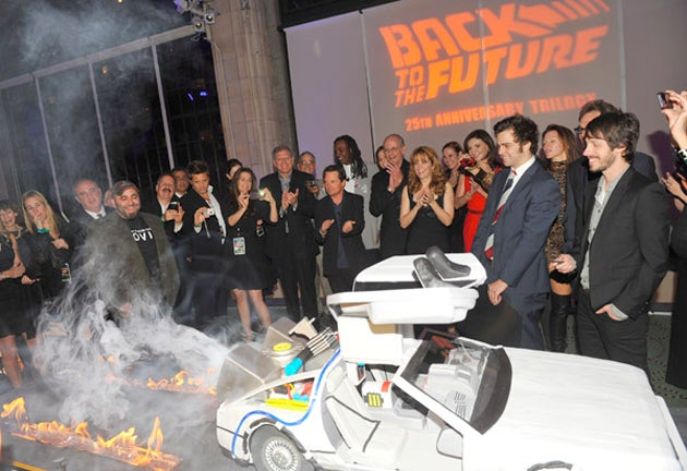 Are You Telling Me You Made a DeLorean...Out of Cake?