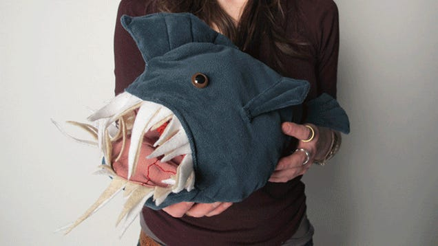 Teach Kids Frank Lessons About Anatomy With This Inside-Out Anglerfish
