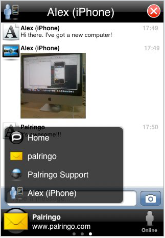 iPhone Apps We Like: Palringo is First Official Multi-Client IM App