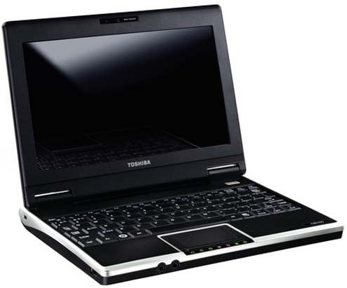 Toshiba Releases Their Obligatory Netbook