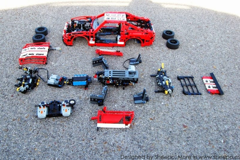 This Amazing Lego Shelby Mustang Is More Advanced Than Some Real Cars
