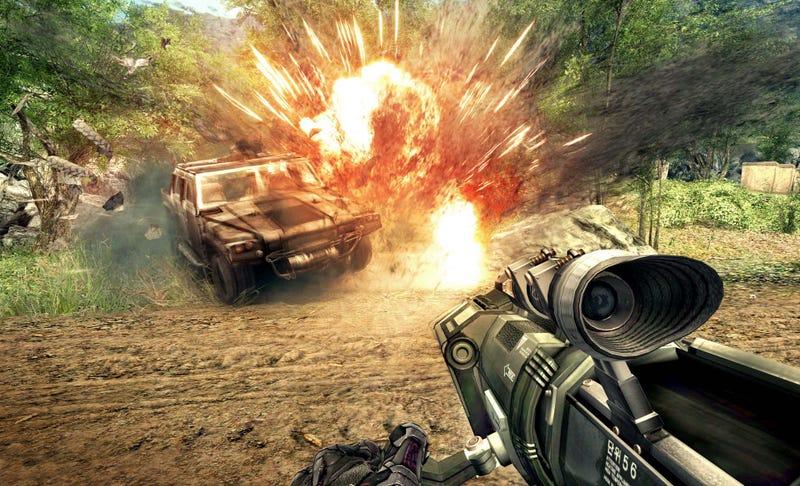 Crysis Warhead Screens