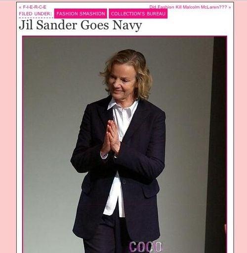 Perez Hilton Seems To Think Jil Sander Still In Charge At Jil Sander