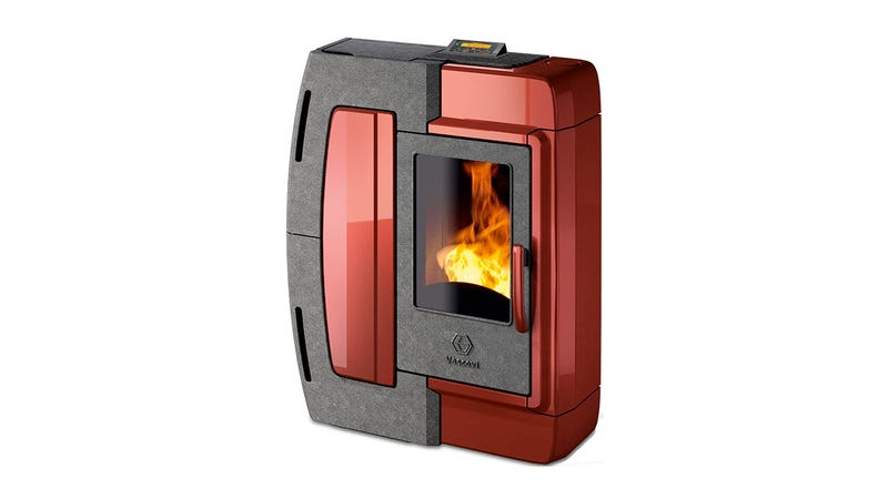 The Pellet Stove That Actually Looks Like It Was Made in the 21st Century