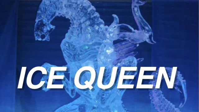 Aliens: This Time It's an Amazing Ice Sculpture