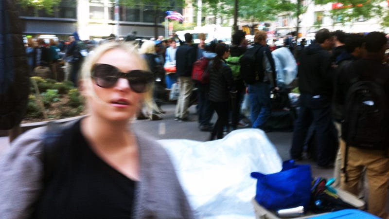 Meghan McCain Is Occupying Wall Street