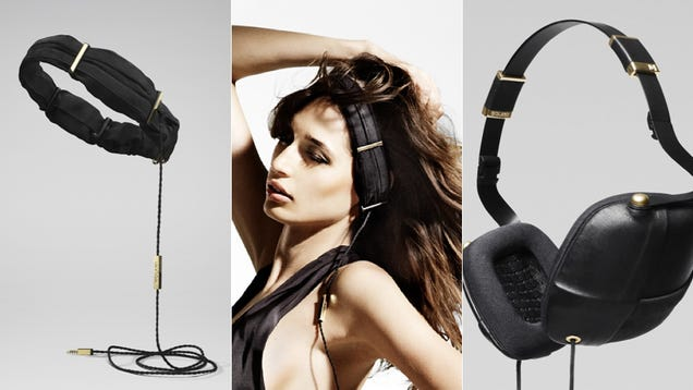 This Is What Stylish Headphones for Ladies Look Like (Hint: They're Not Pink)