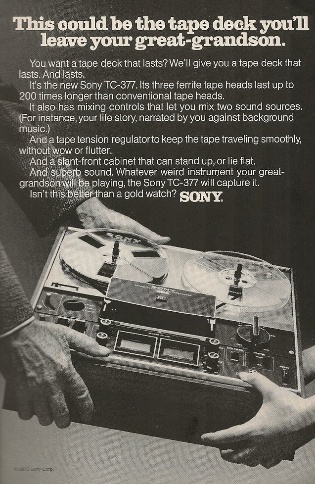 Sony Still Hoping Our Kids Will Be Into Really Retro Gear
