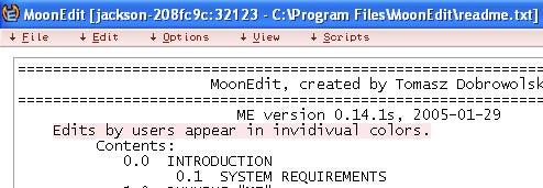 MoonEdit Makes Collaborative Text Editing Sing
