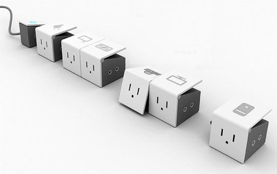 Modular, Multi-Tab Power Strip Makes Competition Look Antiquated