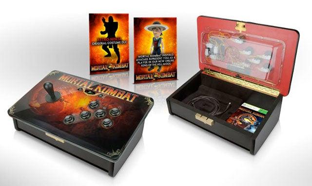 Mortal Kombat Gets X-ray Fight Sticks, Cool Kollector's Edition