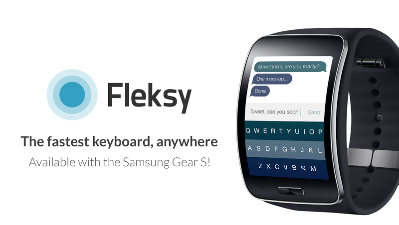 The Samsung Gear S Gets a Smartwatch Keyboard You Might Actually Use