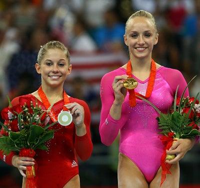 U.S. Women Win Gold, Silver In Gymnastics All-Around