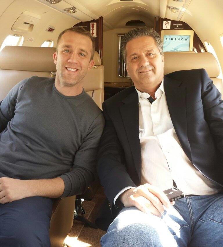 So, Why Was John Calipari Hanging Out With Tucker Max?