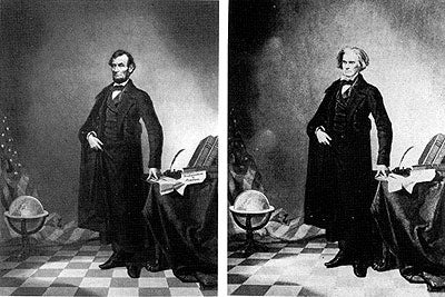 Abraham Lincoln Was Photoshopped