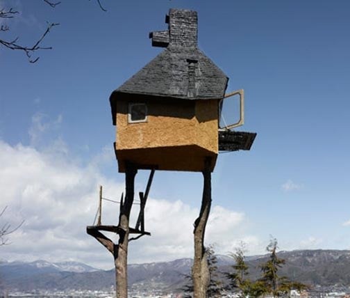 Takasugi-an Treehouse Is Scariest Teahouse Ever