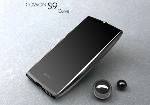 Cowon S9 Curve 16GB Touchscreen Media Player Available Now